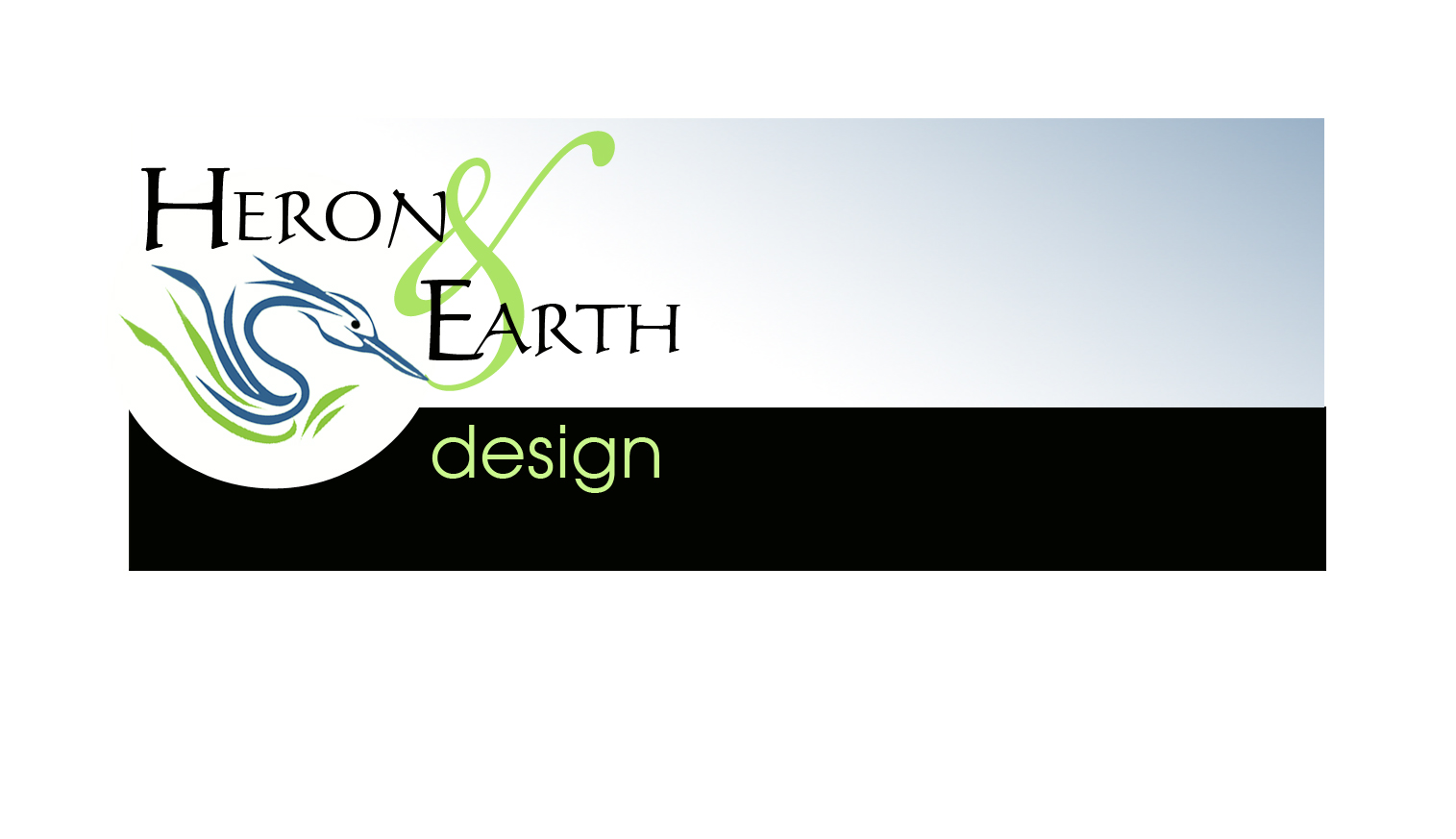 Heron and Earth Design Graphic Services